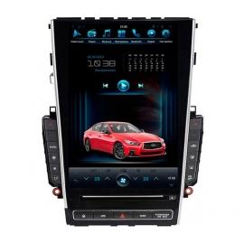Штатная мультимедийная система в стиле Tesla для Infiniti Q50 на OS Android 8.0.1