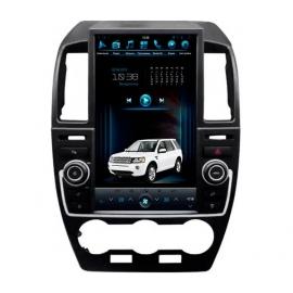 Штатная мультимедийная система в стиле Tesla на OS Android 8.0.1 для Land Rover Freelander 2