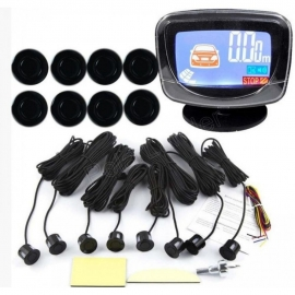 Парктроник iDial-8 LCD черный