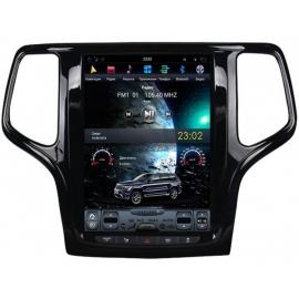 Штатное головное устройство в стиле Тесла для Jeep Grand Cherokee