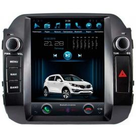 Штатная мультимедийная система в стиле Tesla для Kia Sportage