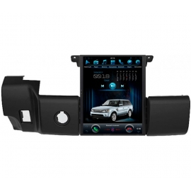 Штатная мультимедийная система в стиле Тесла для Land Rover Range Rover Sport 2009-2013