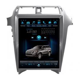 Штатная мультимедийная система в стиле Tesla для Lexus GX460