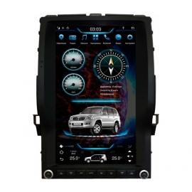 Штатная мультимедийная система в стиле Тесла для Lexus GX 470