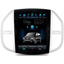 Штатная мультимедийная система в стиле Tesla для Mercedes-Benz Vito W447