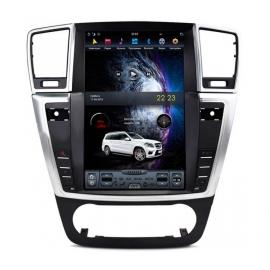 Штатная мультимедийная система в стиле Tesla для Mercedes-Benz ML-class W166, GL-class X166