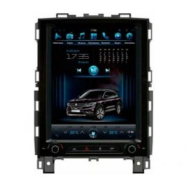 Штатная мультимедийная система в стиле Тесла для Renault Koleos
