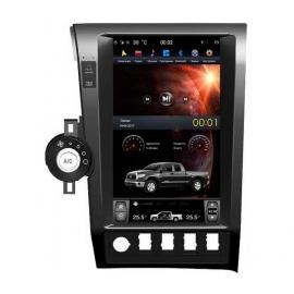 Штатная мультимедийная система в стиле Tesla для Toyota Tundra II, Toyota Sequoia Экран 13,6