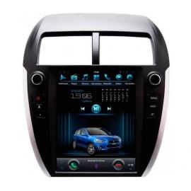 Штатное головное устройство в стиле Tesla для Mitsubishi ASX