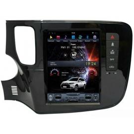 Штатная мультимедийная система в стиле Tesla для Mitsubishi Outlander
